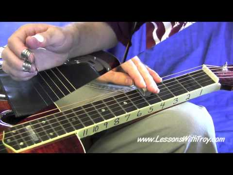 Lessons - Scales - Min Pentatonic Continuous