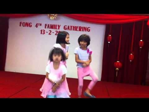Oppa Gangnam Style performance by cousins [Part 1]
