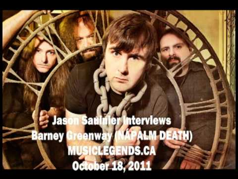 Barney Greenway 2011 Interview   Napalm Death