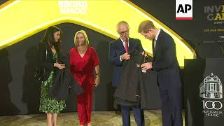 Prince Harry, Meghan Markle attend Invictus Games event with Australian PM