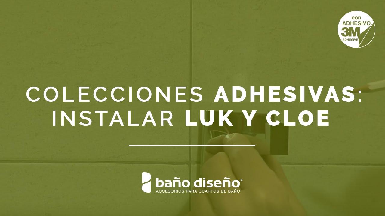 Cómo instalar accesorios de baño adhesivos - Luk y Cloe ...
