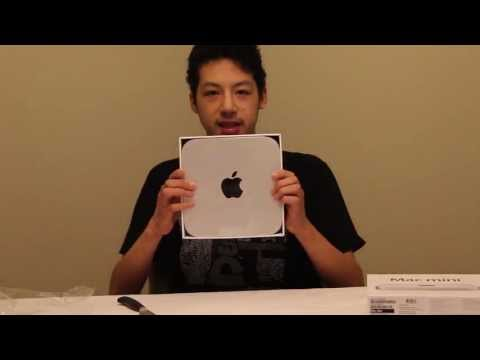 Mac Mini 2012 Unboxing & First Boot