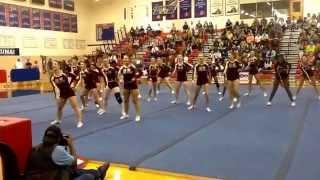Broad Run High School Cheerleading Team- Ashburn, Va- Park View Spiritfest Competition