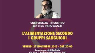 Conferenza Bellaria 27-11-2015 Dr Piero Mozzi [solo audio]