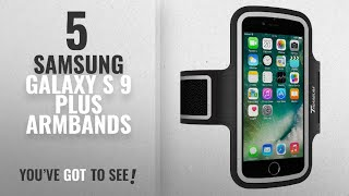 Samsung Galaxy S 9 Plus Armbands [2018 Best Sellers]: Trianium Armband For iPhone X 8 7 6 6S Plus,