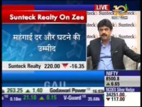 01 Zee Business Sensex Strategy Helpline 16 Jan 2015 02min 09sec Mr  Kamal Khetan   MD, Sunteck Real