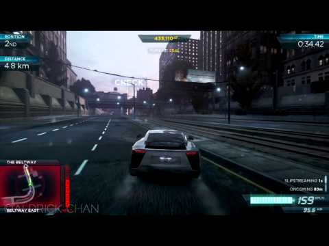 McLaren MP4-12C vs Lexus LFA : NFS MW #6 [HD]