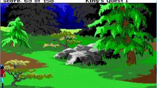 Let's Play King's Quest 1 (Full Playthrough)