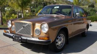 1973 Volvo 164E 1 Owner Classic 6 Cyl Fuel Injected Luxury Saloon