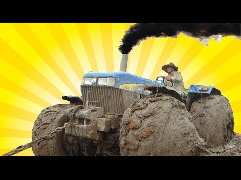 Tractors stuck in mud 2014, big tractors getting stuck [2014] ultimate compilati