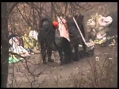 Snipers Shooting protesters in Kiev Ukraine