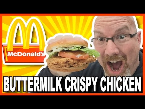 McDonald's Buttermilk Crispy Chicken Review at Chicago O'Hare   KBDProductionsTV