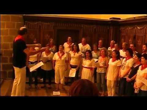 CORO AITZURI DE DEBA- LA SALVE- SAN ROKE 2011.mov