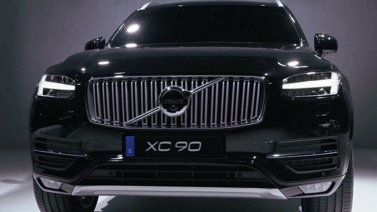 all new 2015 volvo xc90 world premiere youtube