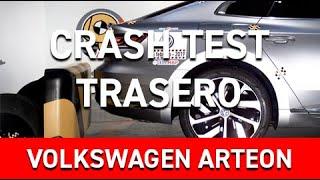 Crash test trasero Volkswagen Arteon