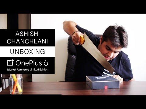 Ashish Chanchlani Unboxing Oneplus 6 | Avengers Edition