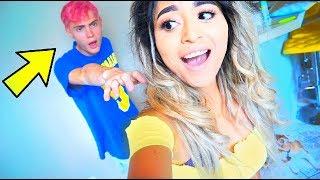 I Put Pink Hair Dye in His Shampoo... (He got mad)