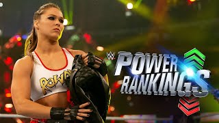 "Rousey makes ""Rowdy"" Power Rankings debut: WWE Power Rankings, April 15, 2018"