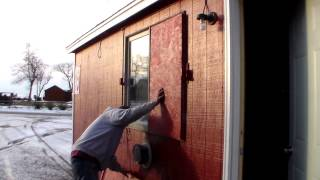 Convertible Ice Fishing Houses to Spear Houses!