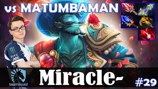 Miracle - Storm Spirit MID | with Ramzes (PL) | vs MATUMBAMAN (WK) | Dota 2 Pro MMR Gameplay #29