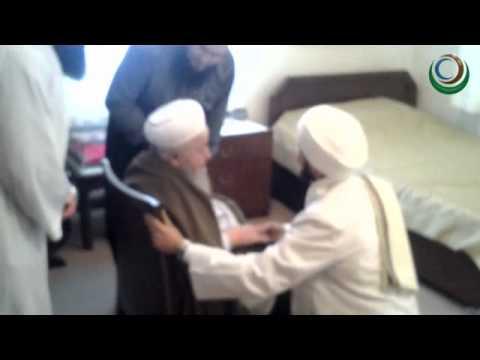 Seyyid Ahmed Şihabuddin Es Senusi Mahmud efendi hazretlerini Kuddise sirruhu ziyaret ettiler