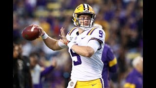 Joe Burrow's AMAZING 4 TD Performance for LSU