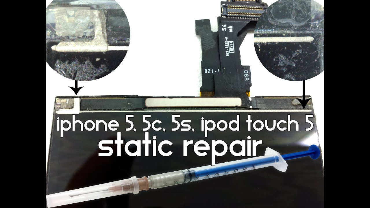 Iphone 5 touch is not working