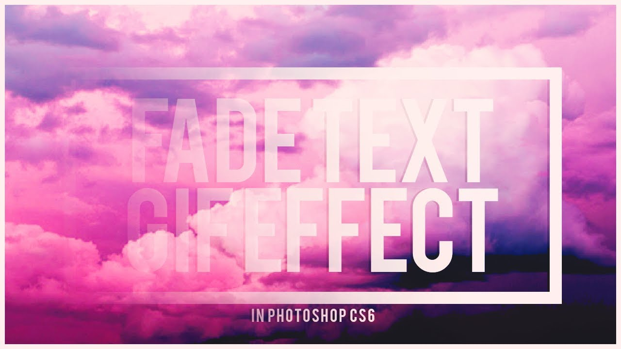 Faded text