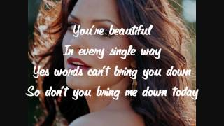 Katharine McPhee - Beautiful - Lyrics