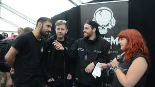 The Raven Age TBFM Interview Download Festival 2016
