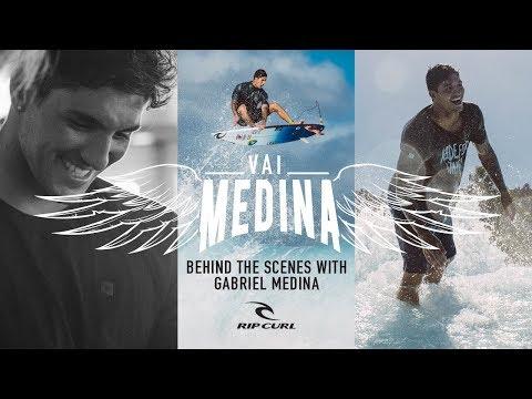 Behind The Scenes with Gabriel Medina | As Told by Charlie Medina | #VaiMedina