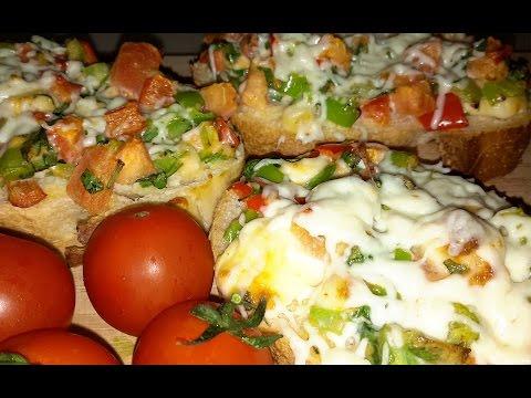 Mini Pizza Nasıl Yapılır?