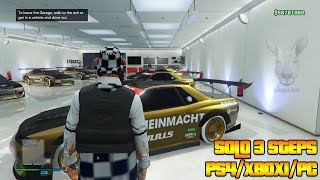 EASIEST Solo 3 Steps Only GTA 5 Online Money Glitch PS4/XBOX1/PC