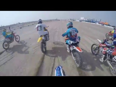 Kuwait Motocross Race 2015 at KMSC Round 1 - Race 1