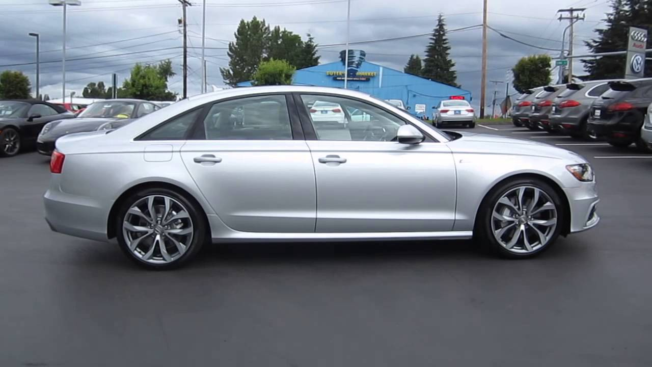 2013 Audi A6 Ice Silver Stock 109370 Youtube