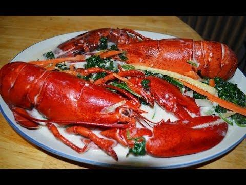 Ginataang Lobster or Alimasag Filipino Recipe Truly Lutong Pinoy   Free Filipino Recipes - YouTube