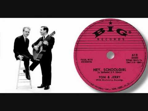 Simon And Garfunkel - Hey Schoolgirl