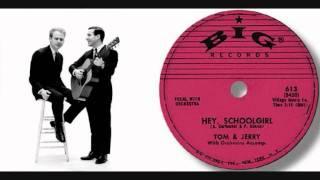 Simon & Garfunkel: Hey School Girl