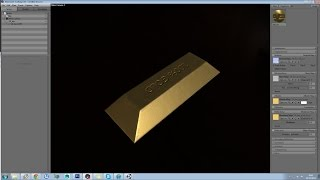 Marmoset 2 - Gold Bar Creation - Physics Based Rendering PT1