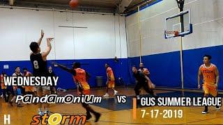 Pandamonium vs Storm 7 17  Summer League Basketball Wednesday Gus 19 Ironman theLottory Jmvol