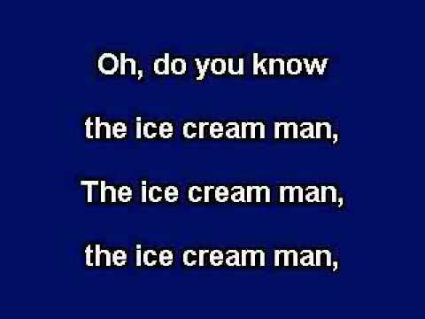 Muffin Man, Karaoke video with lyrics, instrumental version