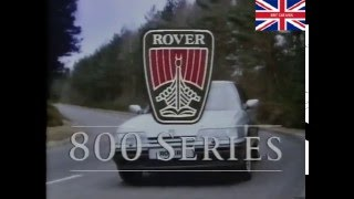 Rover 800 -  Product Familiarisation Video - Part 1 (1987)