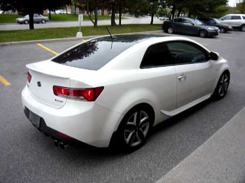 Axle Back Exhaust >> Koup SXR Start up and drive - YouTube