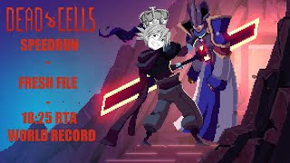 Dead Cells speedrun - Fresh File HotK - 18:25 RTA [World Record]