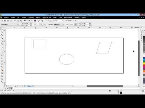 Curso Introducción a CorelDraw X6 - 09 La Paleta de Colores Estandar