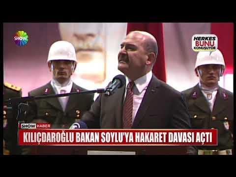 Kılıçdaroğlu Bakan Soylu'ya hakaret davası açtı