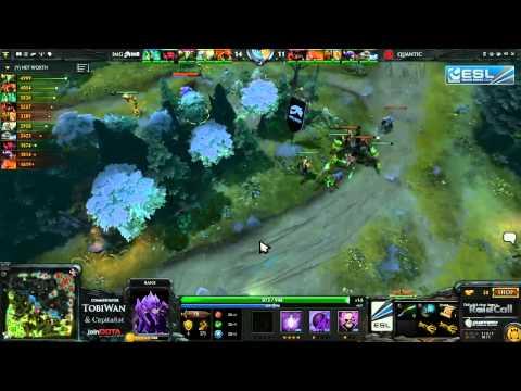 Quantic Gaming vs Imaginary Gaming Game 3   RaidCall EMS One DOTA 2   TobiWan