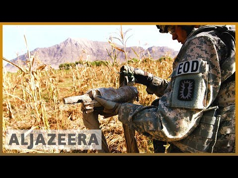 US military base under Taliban control Video