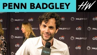 "Gossip Girl's Penn Badgley Reveals ""You"" Character Secrets & Talks Shay Mitchell 
