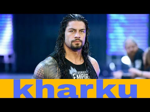 Khadku roman reigns - wwe roman reigns funny punjabi song 2017//latest diljit dosanjh songs//